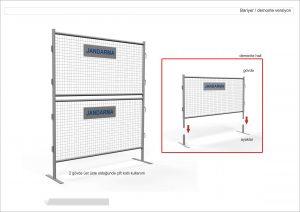 metal güvenlik bariyeri